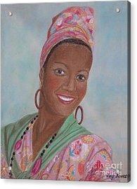 Caribbean Pride Acrylic Print