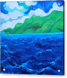 Caribe Seascape Acrylic Print
