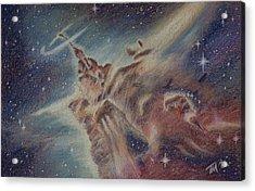 Carina Nebula Acrylic Print by Thomas Maynard
