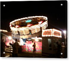 Acrylic Print featuring the photograph Carnival by Clara Sue Beym