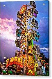 Carnival Fun Acrylic Print by Catherine Utschig