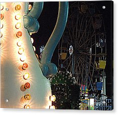 Acrylic Print featuring the photograph Carnivale by Renee Trenholm