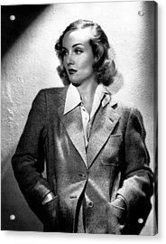 Carole Lombard, Ca. 1930s Acrylic Print by Everett