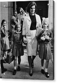 Caroline Kennedy Front Left, Jacqueline Acrylic Print by Everett