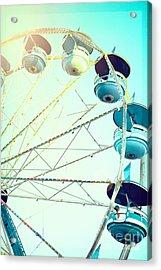 Carousel 2 Acrylic Print by Kim Fearheiley