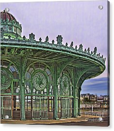 Carousel House Acrylic Print by Vicki DeVico