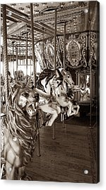 Acrylic Print featuring the photograph Carousel by Raymond Earley