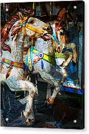 Carousel Thoroughbreds Acrylic Print