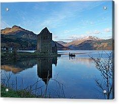 Acrylic Print featuring the photograph Carrick Castle by Lynn Bolt