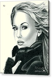 Carrie Underwood Acrylic Print