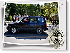 Cars Crossing 109 Acrylic Print