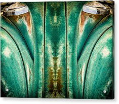 Carschach001 Acrylic Print by Tony Grider