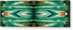 Carschach002 Acrylic Print by Tony Grider