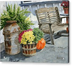 Carversville General Store Acrylic Print