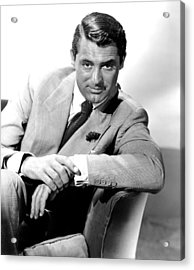 Cary Grant, Portrait Acrylic Print by Everett