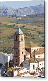 Casabermeja, Spain. Acrylic Print by Ken Welsh