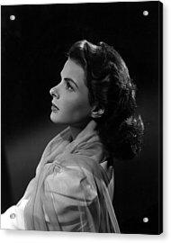 Casablanca, Ingrid Bergman, 1942 Acrylic Print by Everett