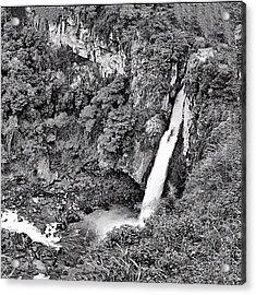 Cascada De Texolo, Xico, Veracruz Acrylic Print