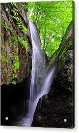 Cascade Falls Acrylic Print by Tina Karle