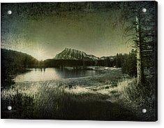 Cascade Pond Banff Acrylic Print