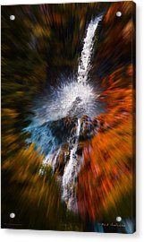 Cascade Waterfall Acrylic Print by Mick Anderson