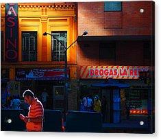 Casino Acrylic Print by Skip Hunt