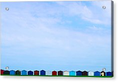 Casitas Acrylic Print by Guillermo Luengas