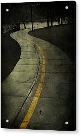 Casledowns Road  Acrylic Print by Jerry Cordeiro