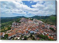 Castelo De Vide Acrylic Print by Photo by William Giles