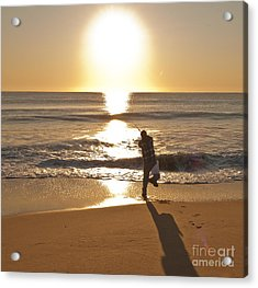 Casting To The Sun Acrylic Print