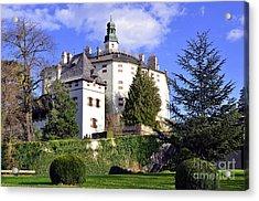 Castle Ambras In Innsbruck Acrylic Print