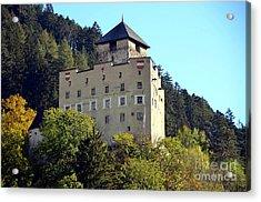 Castle Landeck In Austria Acrylic Print