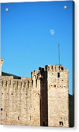 Castle Moon Acrylic Print by Amee Cave