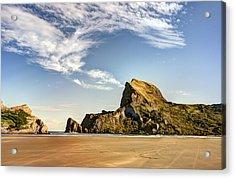 Castle Rock Beach Acrylic Print