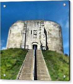 #castle #york #yorkuk #uk #england Acrylic Print