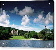 Castlewellan Castle & Lake, Co Down Acrylic Print by The Irish Image Collection