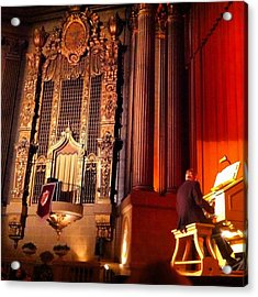 Castro Theater Acrylic Print by Ken SF