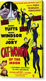 Cat Women Of The Moon, Sonny Tufts Acrylic Print by Everett