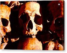 Catacombs In Paris Acrylic Print