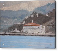 Catalina  Morning Acrylic Print by Robert Rohrich