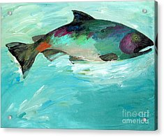 Catch 2 Acrylic Print by Lisa Baack