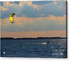 Catch The Wind Acrylic Print by Rrrose Pix