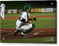 Catcher Acrylic Print by Roger Look