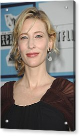 Cate Blanchett At Arrivals Acrylic Print