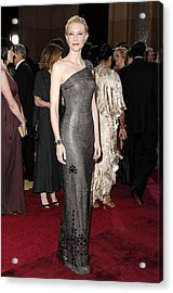 Cate Blanchett Wearing Armani Prive Acrylic Print by Everett