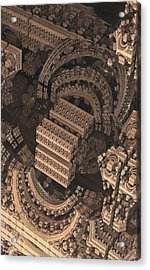 Cathedral 1 Detail Acrylic Print by Jacob Bettany