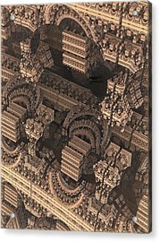 Cathedral 1 Acrylic Print by Jacob Bettany