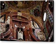 Acrylic Print featuring the photograph Cathedral Ceiling Detail by Lorraine Devon Wilke