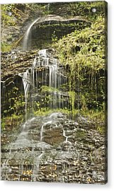 Cathedral Falls 3249 Acrylic Print by Michael Peychich
