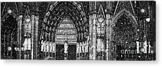 Acrylic Print featuring the photograph Cathedral In The Snow Panorama by Andy Prendy